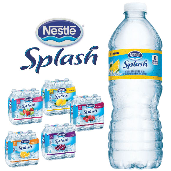 Nestle Splash Products