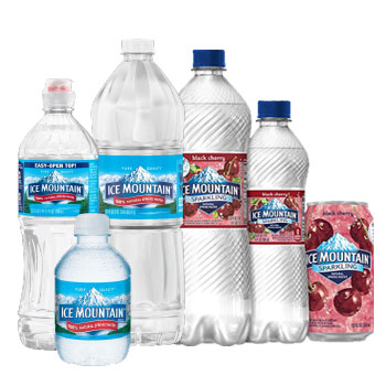 Ice Mountain Water® Products