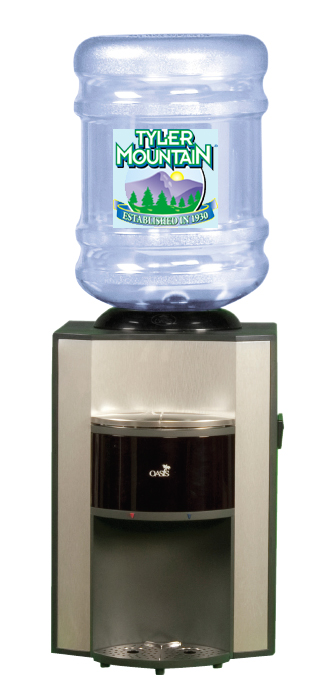 oasis countertop bottled water dispenser