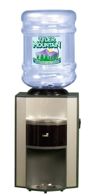 Oasis countertop bottled water dispenser