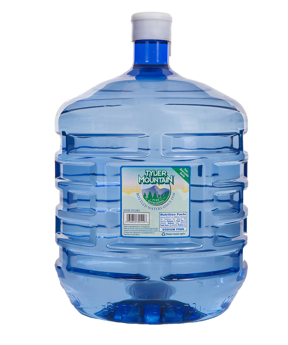 4 Gallon One-Way Bottled Water