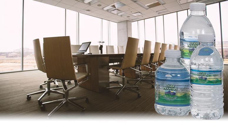 Tyler Mountain Water single serve bottles