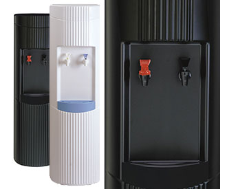 Bottleless water systems and point of use coolers