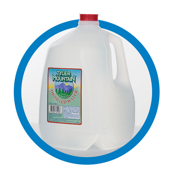 One Gallon Distilled Water